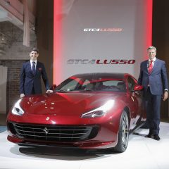 Ferrari GTC4 Lusso unveiled in Japan