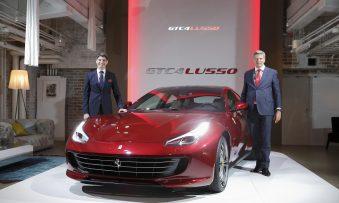 Ferrari GTC4 Lusso unveiled in Japan