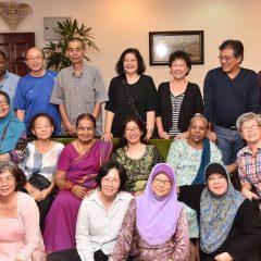 Long lost BESTIES meet their teachers after 48 years