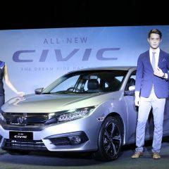 Honda Civic Generasi Ke-10  penuhi cita rasa orang muda