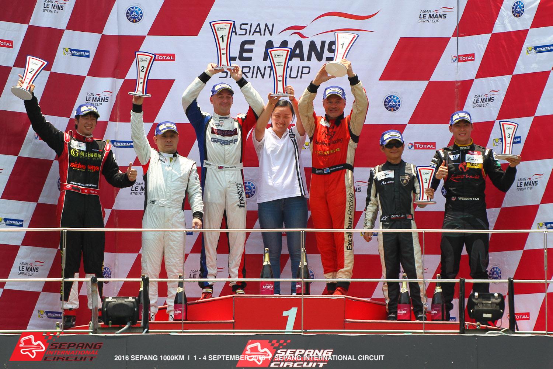 DC Racing Ligier JSP3 won the 2016 Asian Le Mans Sprint Cup