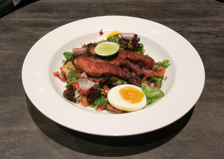 Salmon Yaki Salad