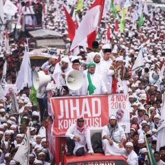 Violent protest sparked in Jakarta against Governor Ahok`s blasphemy