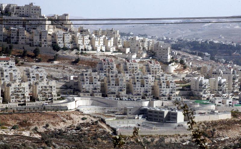 Israel Illegal Settlements. (Mahfouz Abu Turk APA images)