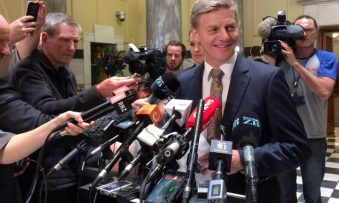 Bill English to become the new Prime Minister of New Zealand