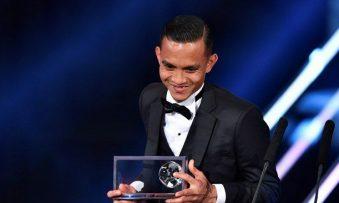 Mohd Faiz, first Asian footballer to win 2016 FIFA Puskas Award
