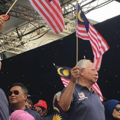 The opposition can only blame me, says PM Najib