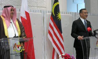 Malaysia, Bahrain join hands against terror