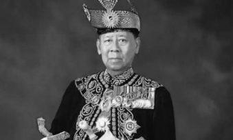 The 14th Yang di-Pertuan Agong passed away