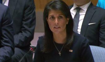 """North Korea leader is """"begging for war"""", says US ambassador"""