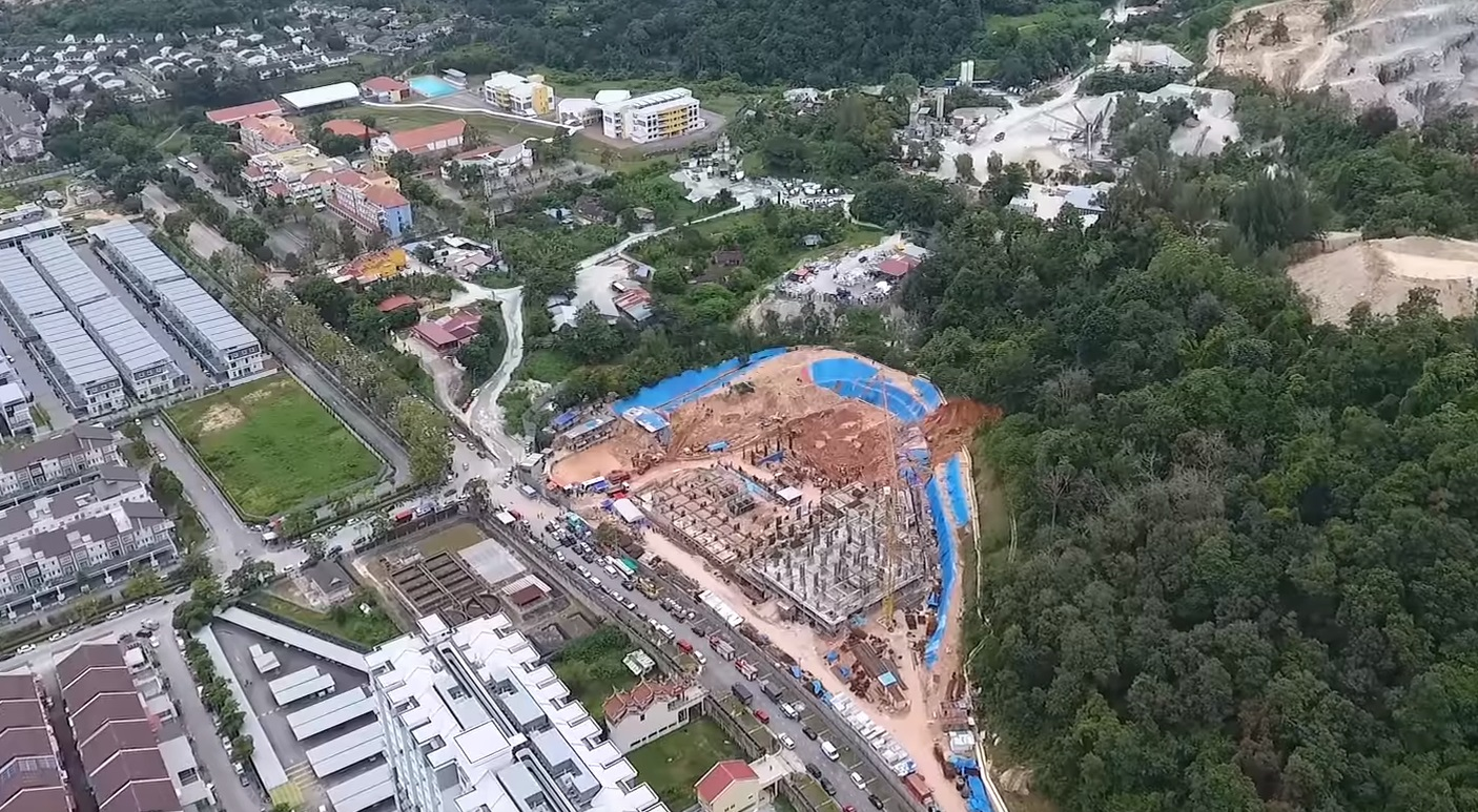 penang landslide