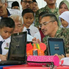 Hishammuddin launched MINDEF Education Blueprint 2018-2022