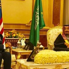 PM Najib meets King Salman of Saudi Arabia