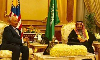 PM Najib meets King Salman of Saudi Arabia