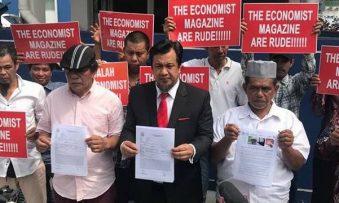 GAUM lodged a police report against The Economist magazine