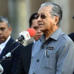 Mahathir: A new law for financing political parties will be formulated