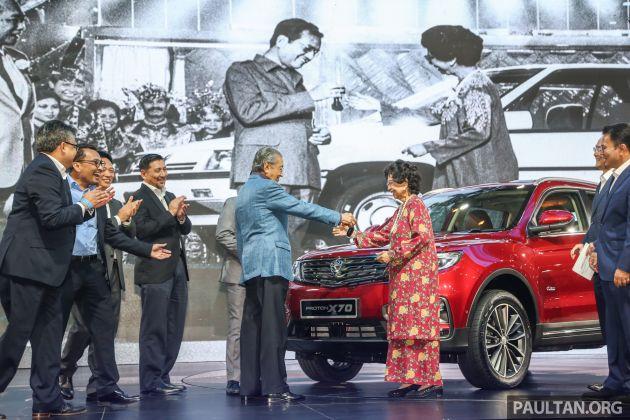 The national car, Proton X70 broke records   Malaysia World News